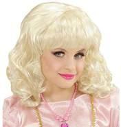 Widmann Karneval - Perücke Prinzessin in Polybag