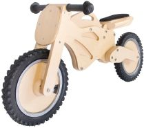 Lernlaufrad aus Holz - 12 Zoll, ab 3 Jahren - Holzspielerei Superbike natur, Kinderlaufrad, Laufrad Kinderrad Fahrrad