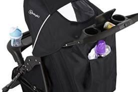 babyGo Basket beige melange Buggy Reisebuggy ergonomischer Griff