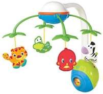 Bright Starts Musikmobile Schlafmusik Babybett Soothing Safari Multicolor K8352