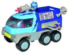 Simba 109402367 - PJ Masks Mond Rover / mit Catboy Figur / mit Licht und Sound / mit Schussfunktion / mit Action Figur / 27cm groß, für Kinder ab 3 Jahren