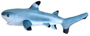 Wild Republic 23413 Plüschtier Living Ocean Mini Kleiner Schwarzspitzenhai, Stofftier, 40 cm, Multi