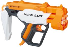 Hasbro Nerf C0391ES0 - N-Strike Modulus Stockshot, Spielzeugblaster