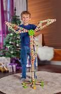 Eichhorn - Constructor Windrad - vielseitiges Holzspielzeug 300 Bauteile, 8 verschiedene Konstruktionen, für Kinder ab 6 Jahren, FSC 100% Buchenholz