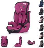 Chipolino 'Jett' Kindersitz Gruppe 1/2/3 (9 - 36 kg), verstellbare Kopfstütze pink