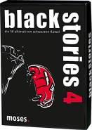 moses. black stories 4 | 50 rabenschwarze Rätsel | Das Krimi Kartenspiel