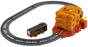 Thomas & seine Freunde FJK24 - Spielset mit batteriebetriebener Diesel Lok, Spielzeug ab 3 Jahren