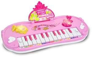 Bontempi 12 2471 Elektronik-Tisch Keyboard mit 22 Tasten