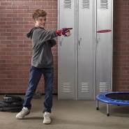 NERF Power Moves Marvel Avengers Captain America Schild Attacke, NERF Disc-Abschuss Spielzeug für Kinder, Rollenspiel, Spielzeug für Kinder ab 5 Jahren
