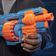 Hasbro - Nerf Elite 2.0 Shockwave RD-15 Nerf Gun, hellblau/orange