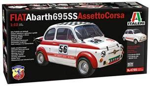 1:12 FIAT Abarth 695 SS/ Assetto Corsa Bausatz + Dekor Tamiya 510004705