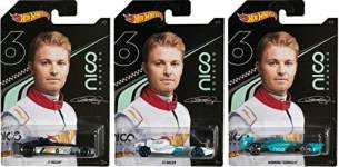Mattel - GGC34 Hot Wheels Designed by Nico Rosberg Sortiment