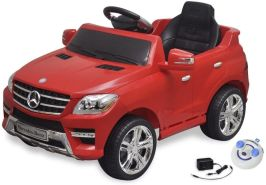Elektroauto Ride-on Mercedes Benz ML350 Rot 6 V mit Fernbedienung