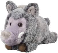 Bauer Spielwaren 'Deine Tiere mit Herz' Wildschwein stehend: Kleines Kuscheltier zum Kuscheln und Liebhaben, ideal als Geschenk, 23 cm, grau (12519)