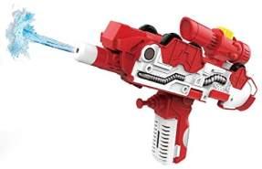 Toi-Toys 2-in-1 Wasserpistole/Feuerwehr rot/weiß 35 cm