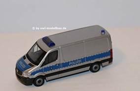 Herpa 094238 Mercedes-Benz Sprinter Kasten Hochdach Polizei Sachsen