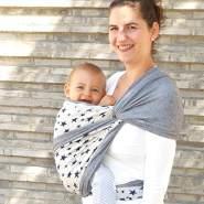 Didymos Babytragetuch Jersey Doubleface Sterne Gr.7