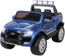 Kinder Elektroauto Ford Ranger Wildtrak 4x4 Kinderauto Elektrofahrzeug Elektro (Blau lackiert)