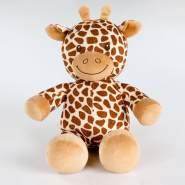 Kuschelige Spieluhr in versch. Motiven und Melodien, Melodien:Lalelu, Spieluhren:Spieluhr Giraffe
