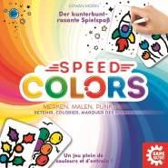 Game Factory 646193 Speed Colors, Merkspiel zum Ausmalen, Kinderspiel, ab 5 Jahren, Mehrfarbig