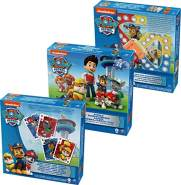 Cardinal Games 6033299 - Paw Patrol 3 Pack Games Bundle