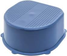Rotho Babydesign Kinderschemel, Antirutschoberfläche und -füßchen, Bella Bambina, Cool Blue (Blue), 20024 0287