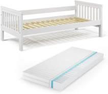 VitaliSpa 'Luna' Kinderbett, weiß, 90x200cm, inkl. Matratze