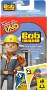 Mattel Games DVJ48 UNO Junior Bob der Baumeister Kartenspiel für Kinder, geeignet für 2 - 4 Spieler, Spieldauer ca. 15 Minuten, ab 3 Jahren