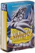 Dragon Shield 11108 Small Sleeves Kartenhhüllen, Matte Silver