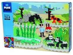 Plus Plus 52236 Konstruktionsspielzeug-Mini Basic 760-Zoo 2