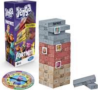Hasbro Jenga Spiel Stapelspiel mit Holzklötzen für Fortnite Fans, ab 8 Jahren (englische Sprache)