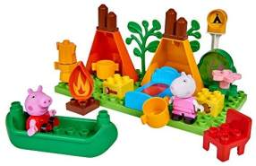BIG PlayBIG Bloxx Peppa Pig Camping Set