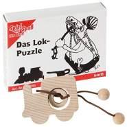 Bartl 109295 Mini-Holz-Puzzle Das Lok-Puzzle aus 3 Teilen