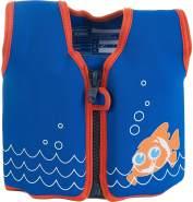 Konfidence Jacket Kinder Schwimmweste Schwimmhilfe Neopren Scoot the Clownfish 18 Monate - 3 Jahre