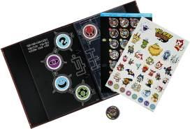 Hasbro Yo-Kai Watch B5945EQ0 - Sammelbuch inklusive 1 Medaille, Sammelspielzeug