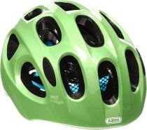 ABUS Fahrradhelm Youn-I - sparkling green - 48-54 cm