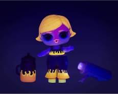 L.O.L. Surprise! Sammelbare Modepuppen - Mit 8 Überraschungen, Moden und Accessoires - Inklusive Schwarzlicht-Enthüllungen - Lichter-Glitzer-Puppe