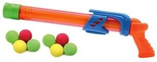 Jamara 460312 - Mc Fizz Fizzy Balls orange – 2 in 1 Wasserpistole mit Softbällen, Wasser spritzen oder Bälle schießen, Pumpsystem, leicht zu bedienen, Spritzreichweite ca. 7 m - Ballreichweite ca. 9 m