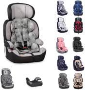 Lorelli Kindersitz Navigator Gruppe 1/2/3 (9 - 36 kg) 1 bis 12 Jahre umwandelbar weiß grau