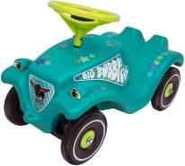 BIG 800056108 'Bobby-Car-Classic Little Star' ab 12 Monaten, bis 50 kg belastbar, türkis mit Aufklebern