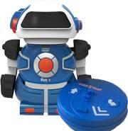 Gear2play RC Roboter Mini BotSpielfigur 10 cm blau