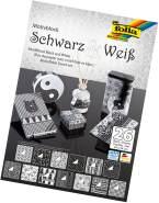 "Glorex Motivblock schwarz/weiss"" ""24x34cm, 26 Blatt sortiert"""""