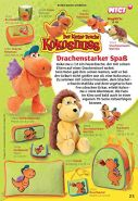 NICI 37919 - Der kleine Drache Kokosnuss - Schlüsselanhänger