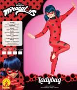 Rubie's Offizielles Wundervolles Marienkäfer-Kostüm und Augenmaske, Superhelden