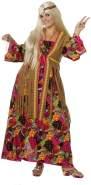 Damen Hippie-Kleid lang (48)
