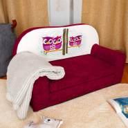 Stillerbursch Kindersofa Modell 1, beere