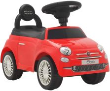 vidaXL Kinder-Aufsitzauto Fiat 500 Rot