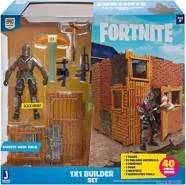 FORTNITE FNT0048 FORTNITE-1x1 Builder Set mit Spielfigur Black Knight Serie 1, mehrere Farben