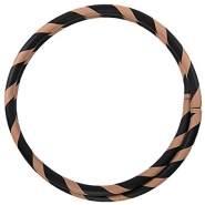 Faltbarer Anfänger Hula Hoop Reifen, Ø105cm, BRAUN