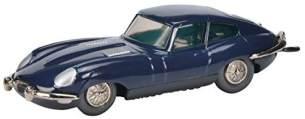 Schuco Micro Racer Jaguar E-Type, Modellauto, Die-Cast, Limitierte Auflage, dunkelblau